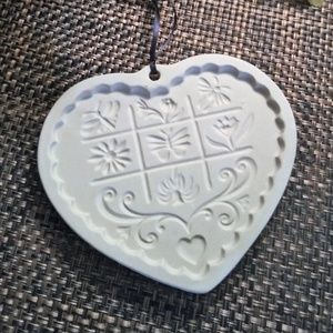 Pampered Chef Cookie Mold 1996 Gardens of th Heart